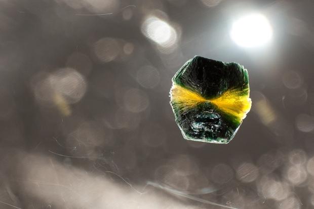 clinochlore-in-quartz